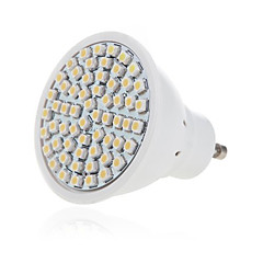 3W GU10 GX5.3 LED Spotlight MR16 60 SMD 2835 300-350lm Warm White Cold White 2700-6500K Decorative AC 220-240V