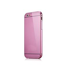 Недорогие Кейсы для iPhone 5-Кейс для Назначение iPhone 5 Apple Кейс для iPhone 5 Защита от удара Ультратонкий Кейс на заднюю панель Сплошной цвет Твердый Металл для