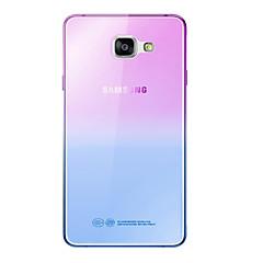For Samsung Galaxy etui Ultratyndt Etui Bagcover Etui Farvegradient Blødt TPU for Samsung A7(2016) A5(2016) A3(2016) A9 A8 A7 A5 A3