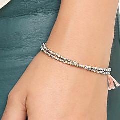 cheap Bracelets-Vintage Bracelets For Women Harajuku Cordao Best Friends Tassel Pendant Pulseras Bohemian Bangles Bracelet Femme Christmas Gifts