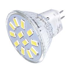 お買い得  LED 電球-YouOKLight 250 lm GU4(MR11) LEDスポットライト MR11 12 LEDビーズ SMD 5733 装飾用 温白色 / クールホワイト 9-30 V / 1個 / RoHs / FCC