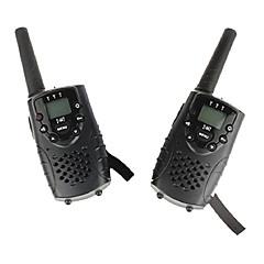 お買い得  トランシーバー-T667446B トランシーバー ハンドヘルド 電池残量不足通知 VOX 暗号化 CTCSS/CDCSS キーロック バックライト LCD スキャン 監視 3KM-5KM 3KM-5KM 8 Channels AA alkaline battery 0.5W トランシーバー