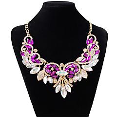 preiswerte Halsketten-Damen Halsketten - Diamantimitate Tropfen Modisch Weiß, Purpur, Rot Modische Halsketten Schmuck Für Hochzeit, Party