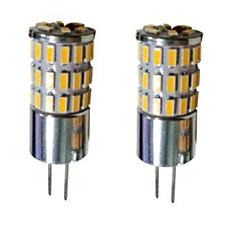G4 LED Bi-pin Lights T 48 SMD 3014 300-450 lm Warm White Cold White Natural White 3000-6000 K Decorative DC 12 V