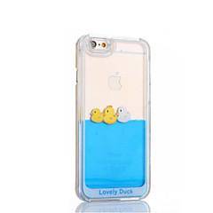 Недорогие Кейсы для iPhone 6-Кейс для Назначение Apple iPhone 8 / iPhone 8 Plus / iPhone 6 Plus Движущаяся жидкость Кейс на заднюю панель Мультипликация Твердый ПК для iPhone 8 Pluss / iPhone 8 / iPhone 6s Plus