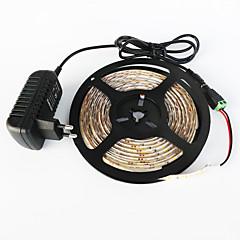 halpa LED-valonauhat-Valosetit 300 LEDit Lämmin valkoinen Valkoinen Leikattava Vedenkestävä Itsekiinnittyvä Yhdistettävä 100-240V
