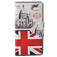 Voor iPhone 7 hoesje / iPhone 6 hoesje Portemonnee / Kaarthouder / met standaard / Flip / Reliëfopdruk / Patroon / Magnetisch hoesje