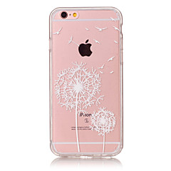 olcso iPhone 7 tokok-Fekete tok Ultra vékony / Biszkvit-porcelán / Minta Other TPU Mekano Tok Apple iPhone 6s Plus/6 Plus / iPhone 6s/6 / iPhone SE/5s/5