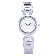 preiswerte Tolle Angebote auf Uhren-REBIRTH Damen Armbanduhr Quartz Schlussverkauf / PU Band Analog Freizeit Modisch Schwarz - Weiß Schwarz