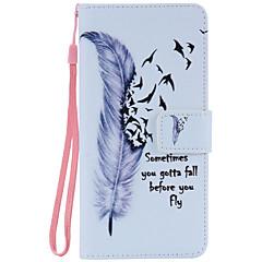 Назначение Samsung Galaxy Note7 Чехлы панели Бумажник для карт Кошелек со стендом Флип С узором Чехол Кейс для  Перья МягкийИскусственная