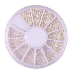 1PCS-6*6*0.5Κοσμήματα Νυχιών- απόABS