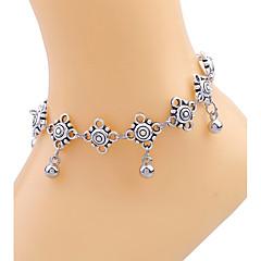 Kadın Ayak bileziği/Bilezikler Altın Kaplama alaşım Eşsiz Tasarım Sexy Bohemia Stili Moda Avrupa kostüm takısı Damla Mücevher Mücevher
