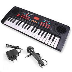 abordables Caja de Música-Teclado electrónico Piano Divertido Con un micrófono Niños Regalo Chico Chica Regalo