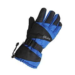 قفازات الدراجة قفازات التزلج للرجال الدفء مقاوم للماء ضد الهواء كنفا التزلج