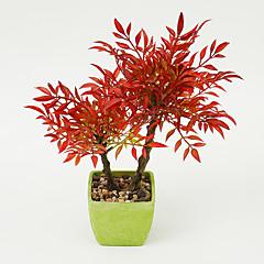 abordables Decoración de Oficina-Flores Artificiales 1 Rama Estilo moderno Plantas Flor de Mesa