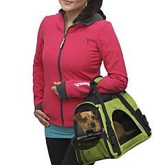 Gato Perro Transportines y Mochilas de Viaje Mini Mensajero Mascotas Portadores Portátil Transpirable Un ColorAmarillo Rojo Verde Azul