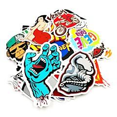 preiswerte Auto Aufkleber-ZIQIAO 4# / 5# / 6# Auto Aufkleber Zeichentrick Volle Auto Aufkleber Cartoon Design Aufkleber