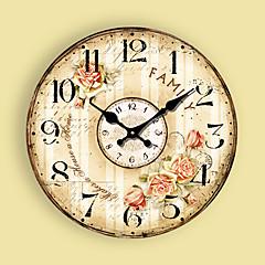 1PC Contemporary Sitting Room Wall Clock Modern Mute  Quartz Clocks And Watches(Pattern is Random)