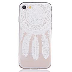 Για iPhone X iPhone 8 iPhone 7 iPhone 7 Plus iPhone 6 Θήκες Καλύμματα Διαφανής Ανάγλυφη Με σχέδια Πίσω Κάλυμμα tok Lace Εκτύπωση Μαλακή