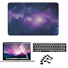 abordables Novedades-MacBook Funda para Carcasas de Cuerpo Completo Cielo Caricatura El plastico MacBook Air 11 Pulgadas MacBook Pro 15 Pulgadas con Pantalla