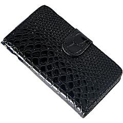 змеиной ретро рисунок моды кожа PU слот случай карточки полный корпус для iphone 5 / 5s