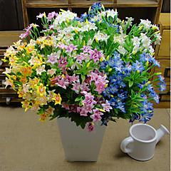 abordables Decoración de Oficina-Flores Artificiales 1 Rama Estilo Pastoral Flores eternas Flor de Mesa
