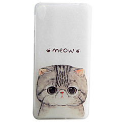 Cat Pattern Material TPU Phone Case For Sony Xperia E5 XA Cases / Covers for Sony