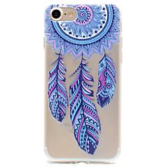 Til iPhone X iPhone 8 iPhone 7 iPhone 6 iPhone 5 etui Etuier Mønster Bagcover Etui Drømme fanger Blødt TPU for Apple iPhone X iPhone 8