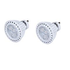 GU10 LED Spotlight MR16 5 SMD 2835 330 lm Warm White Cold White 3000/6000 K Decorative AC 85-265 AC 220-240 AC 110-130 V