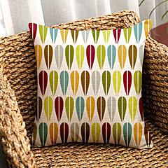 halpa -1.0 kpl Puuvilla/pellava Tyynyliina / Body-tyyny / sohva tyyny,Ruudullinen Moderni/nykyaikainen