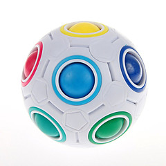 Cubo de rubik YongJun Magic Rainbow Ball Cubo velocidad suave Magic Rainbow Ball Puzle en forma de balón Nivel profesional Velocidad