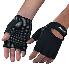 Rękawiczki sportowe Rękawiczki rowerowe Quick Dry Przepuszczalność wilgoci Oddychający Wearproof Odporny na wstrząsy Ochronne Bez palców