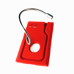 Nagyítóüveg / Multitools Túrázás / Kemping / Utazás / Szabadtéri Multi Function / Sürgősségi Műanyag / ötvözet Piros