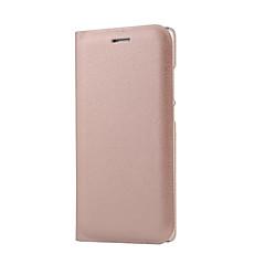 お買い得  Huawei Pシリーズケース/ カバー-ケース 用途 Huawei社P9 / Huawei社P9ライト / Huawei P9 Lite / P9 / Huaweiケース フリップ / つや消し フルボディーケース ソリッド ハード PUレザー のために P10 / Huawei P9 Lite / Huawei P9