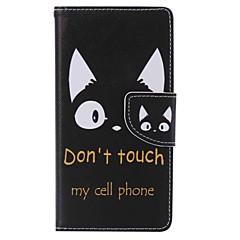 Для sony xperia x производительность xa держатель карты кошелек с футляром для футляра корпус для тела кошка жесткая кожа pu