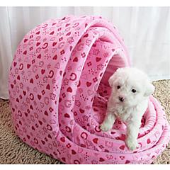 お買い得  犬用品&グルーミング用品-ネコ / 犬 ベッド ペット用 マット/パッド ソフト ピンク / ローズレッド ファブリック