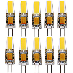 abordables Bombillas LED-YWXLIGHT® 10pcs 4W 250-350lm G4 Focos LED T 1 Cuentas LED COB Decorativa Blanco Cálido Blanco Fresco Blanco Natural 12-24V