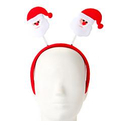 1 db szivacs szent klaus design haj karika karácsonyi dísz buli ellátás