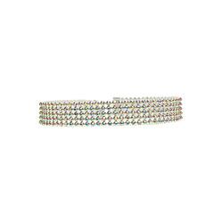 preiswerte Halsketten-Damen Tattoo-Hals - Strass Tattoo Stil, Europäisch, Modisch Weiß, Regenbogen Modische Halsketten Für Hochzeit, Party, Alltag