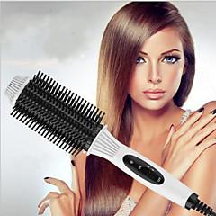 abordables rodillos para el cabello-Plancha Rizadora / Rulo / Cepillo y Peine Solo en Cabello Seco Realzado de Rizos / Suavidad y TersuraControl de Temperatura / Temperatura