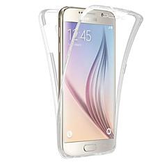 Недорогие Чехлы и кейсы для Galaxy Note 5-Кейс для Назначение SSamsung Galaxy Полупрозрачный Чехол Сплошной цвет Мягкий ТПУ для Note 5 Note 4 Note 3