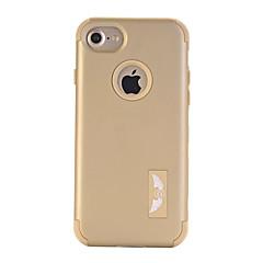 Для Кейс для iPhone 7 / Кейс для iPhone 7 Plus Вода / Грязь / Надежная защита от повреждений Кейс для Чехол Кейс для Один цвет Твердый PC