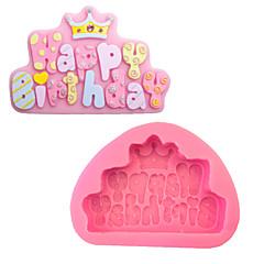 voordelige Bakgerei & Gadgets-bakvorm Letter Cake Siliconen Milieuvriendelijk DHZ Hoge kwaliteit Anti-aanbak