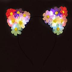 febră de lumină până urechi de pisică floare Banda dus Banda daisy Halloween giftchristmas cadou idee cadou petrecere