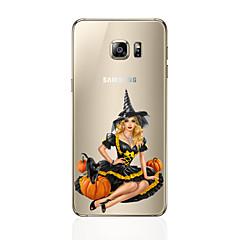 olcso Galaxy S6 Edge tokok-Case Kompatibilitás Samsung Galaxy S7 edge S7 Ultra-vékeny Fekete tok Más Puha TPU mert S7 edge S7 S6 edge plus S6 edge S6