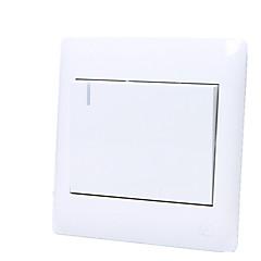 fali kapcsoló aljzat egyszeri egyetlen vezérlő kapcsoló panel Yabai nyitott 86-Yabai / négy csomag eladó