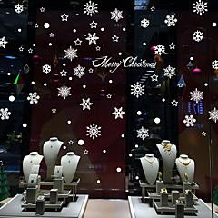 Karácsony / Romantika / Ünneő Falimatrica Repülőgép matricák / Tükör falimatrica Dekoratív falmatricák,PVC Anyag Eltávolítható