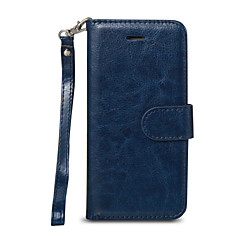 Na iPhone 8 iPhone 8 Plus iPhone 7 iPhone 6 Etui iPhone 5 Etui Pokrowce Etui na karty Portfel Odporne na kurz Futerał Kılıf Solid Color