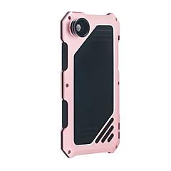 Недорогие Кейсы для iPhone 6 Plus-Для Вода / Грязь / Надежная защита от повреждений Кейс для Чехол Кейс для Один цвет Твердый Металл AppleiPhone 7 Plus / iPhone 7 / iPhone