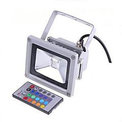 billige Udendørsbelysning-LED-projektører Fjernstyret Dæmpbar Vandtæt Dekorativ Udendørsbelysning RGB AC 85-265V